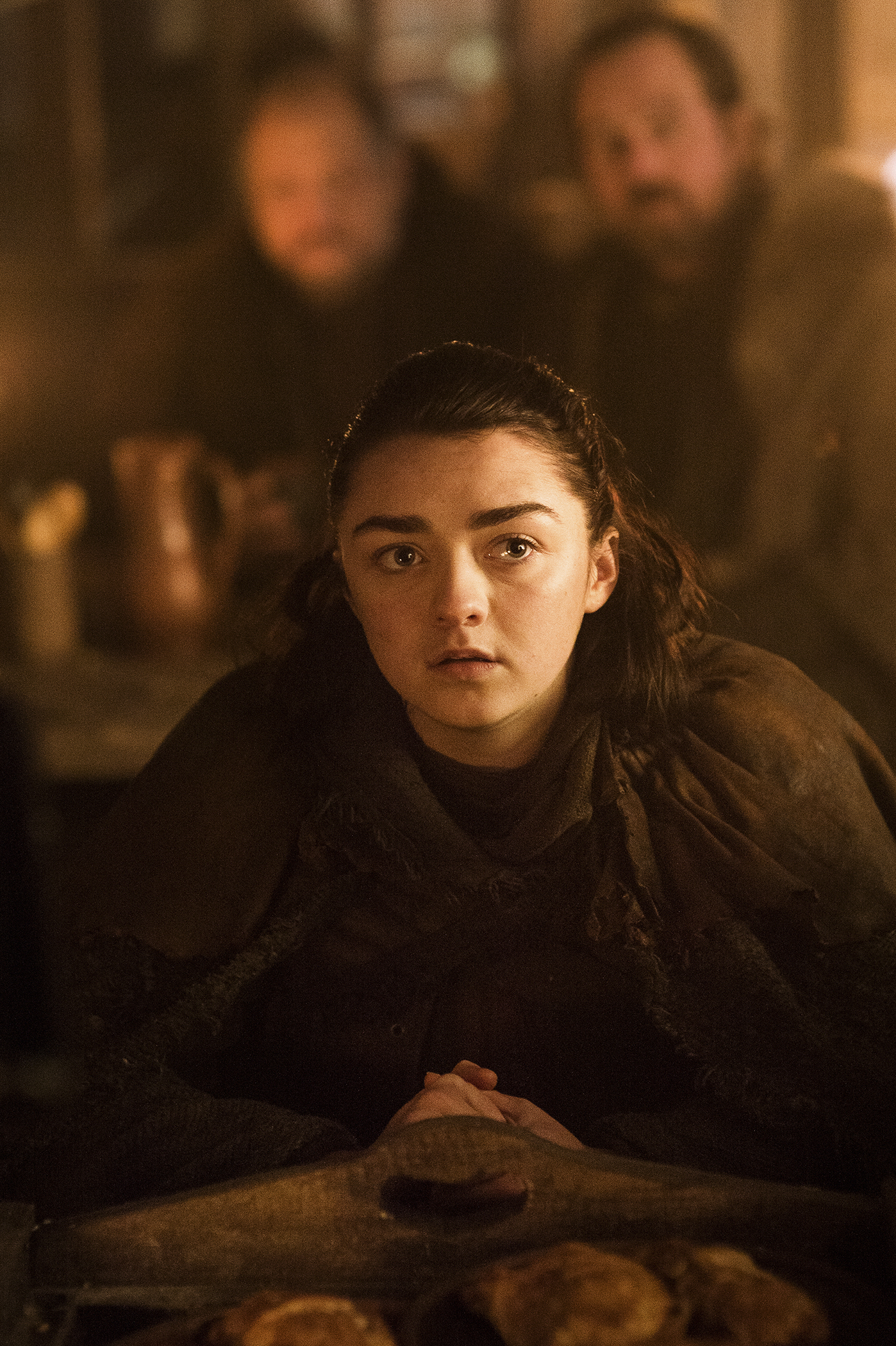 Arya (Maisie Williams) at an inn / Photo: Helen Sloan/HBO