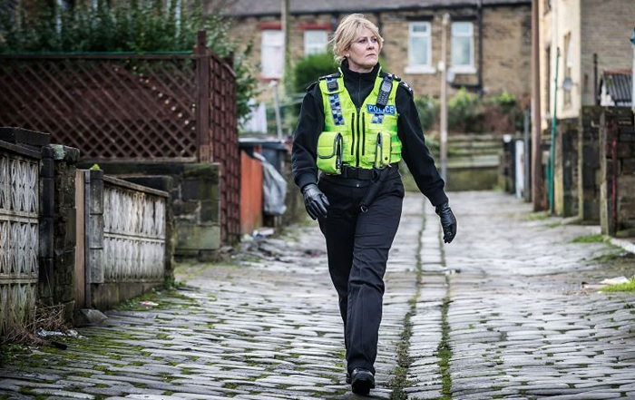 Happy Valley, with Sarah Lancashire as Catherine Cawood