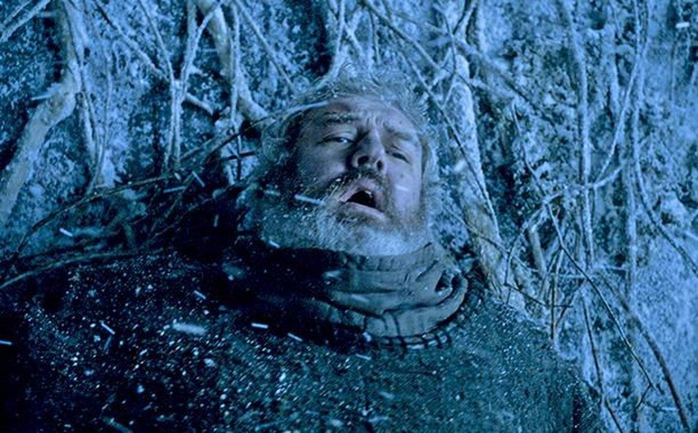 Hodor's Death on Game of Thrones