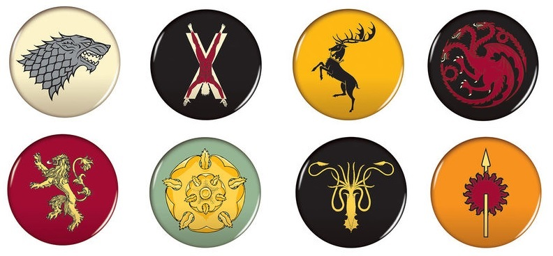 House Sigil magnets Dark Horse