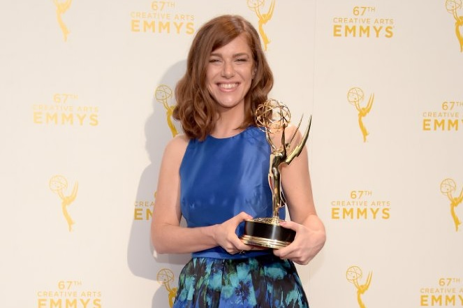 Katie Weiland at the Emmys