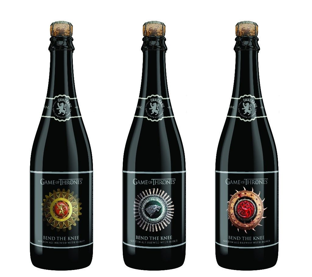 Bend the Knee Game of Thrones Ommegang ale