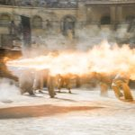 "Drogon incinerates the Harpies in ""The Dance of Dragons"""
