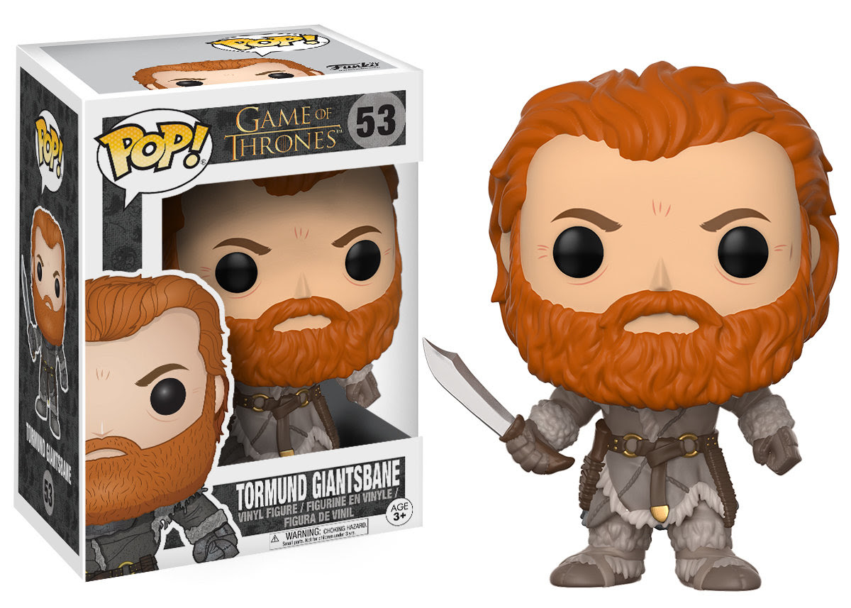 Game of Thrones Funko Pop Tormund Giantsbane
