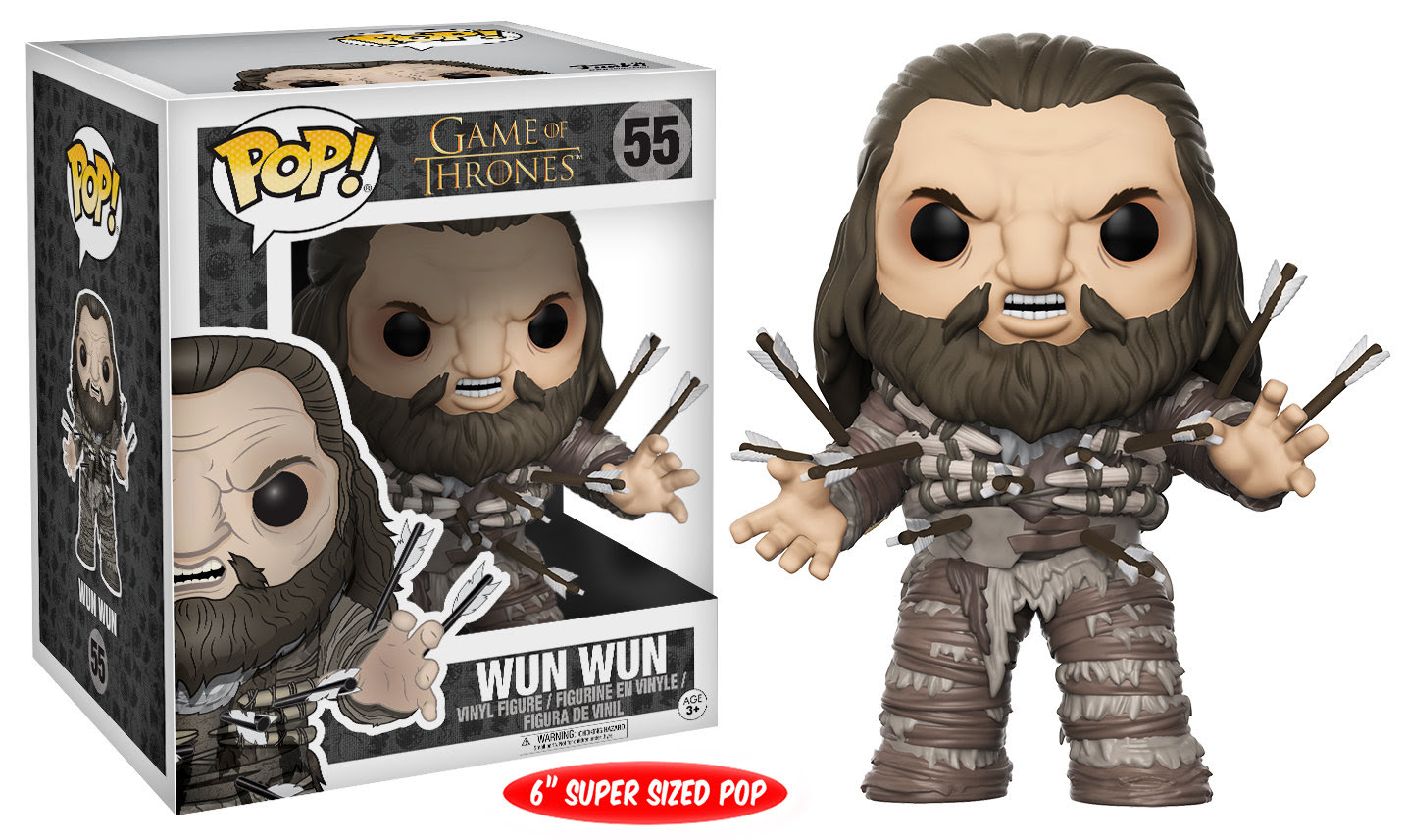 Game of Thrones Funko Pop Wun Wun