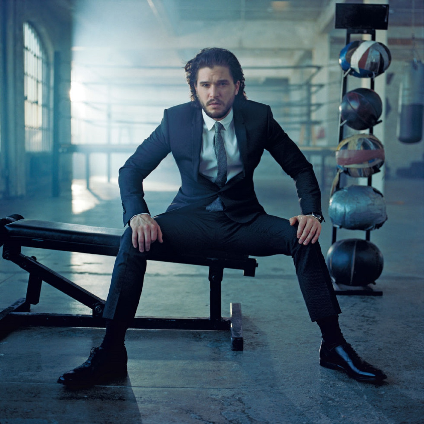 Photo credit: Kit Harington by Norma Jean Ray for Esquire
