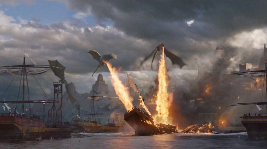 An Aegon's Conquest series would basically be this every episode. Awesome? Yes. Insanely expensive? Uh, yeah.