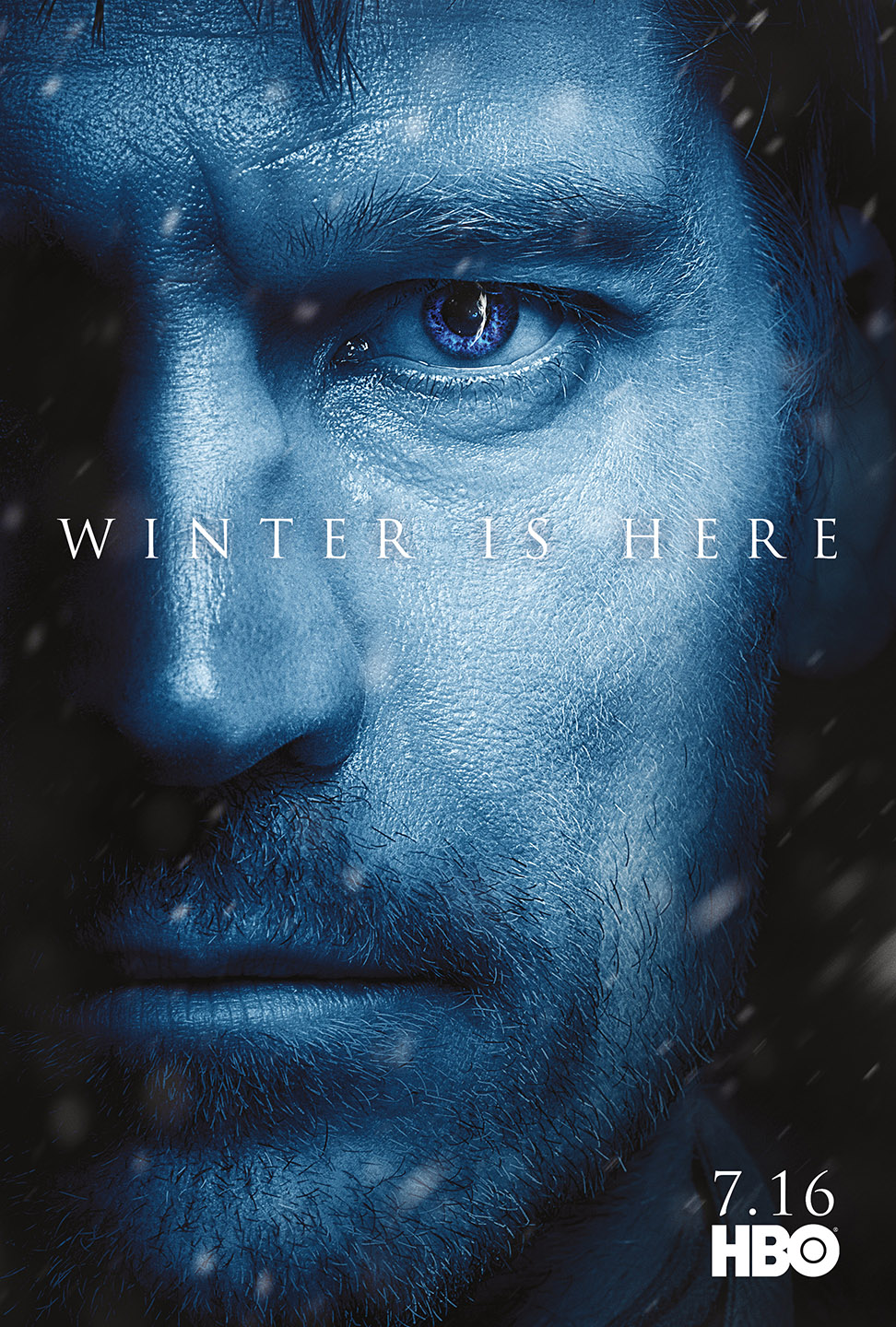 character posters for game of thrones season 7 revealed winter is here watchers on the wall. Black Bedroom Furniture Sets. Home Design Ideas
