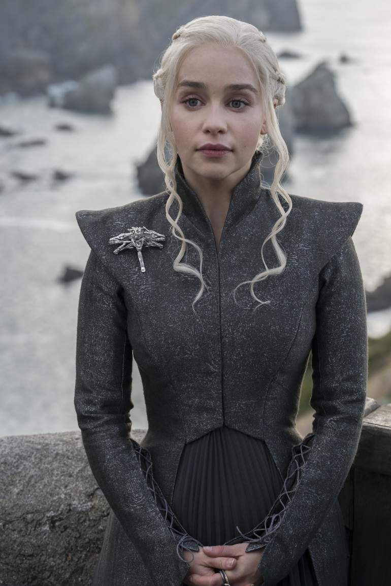 Emilia Clarke as Daenerys. Photo: HBO