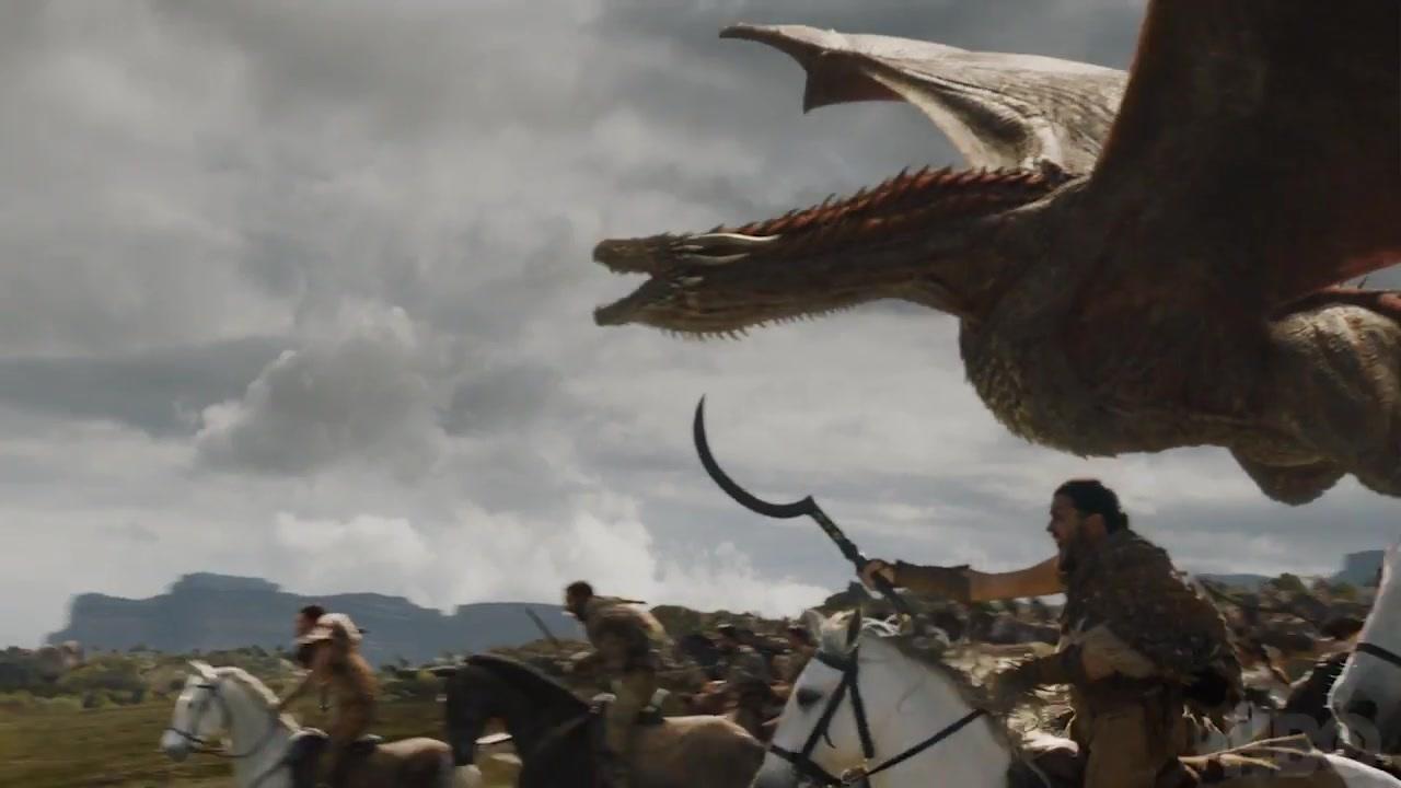 43 Dothraki Viserion
