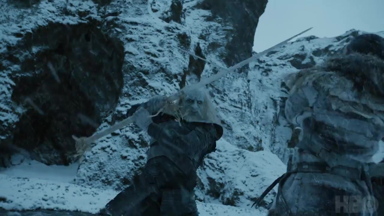 53 White Walker fight