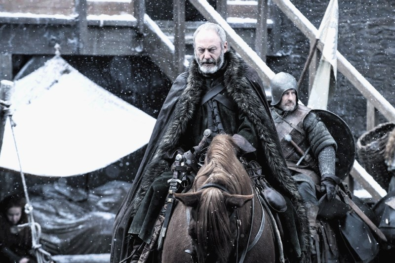 Liam Cunningham as Davos Seaworth. Photo: HBO / Helen Sloan
