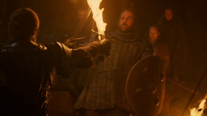 Beric versus the Hound