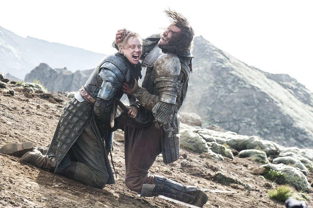 Brienne and the Hound