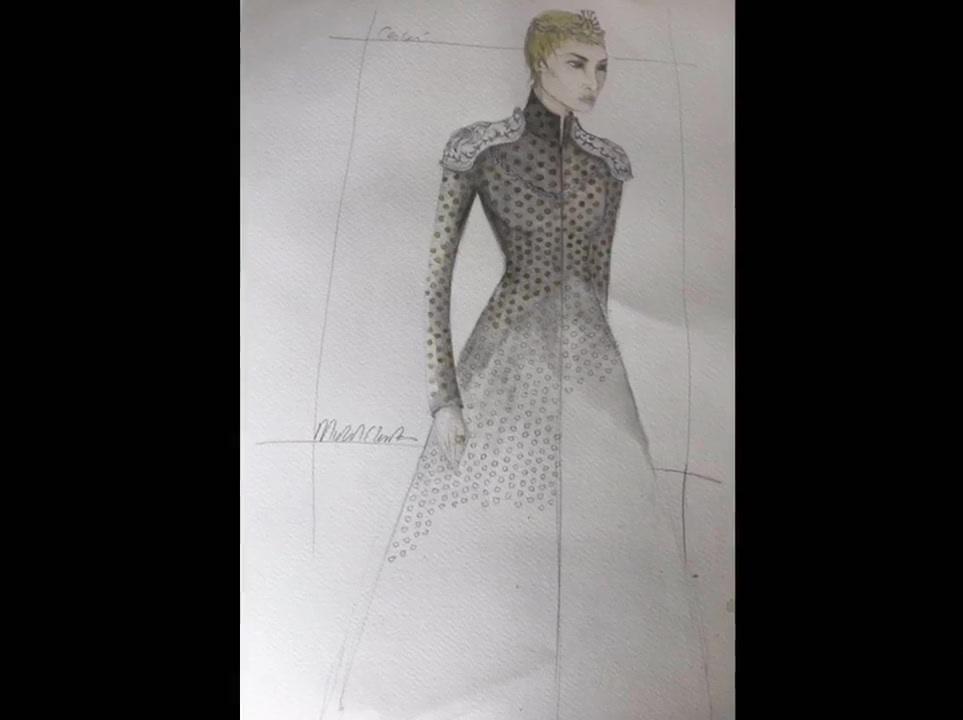 Cersei sketch