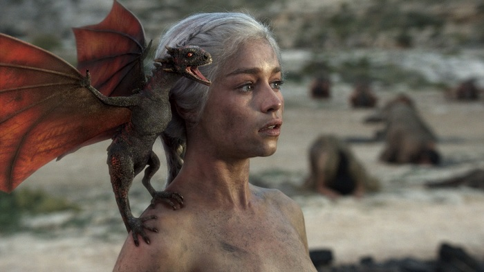 Daenerys Fire and Blood