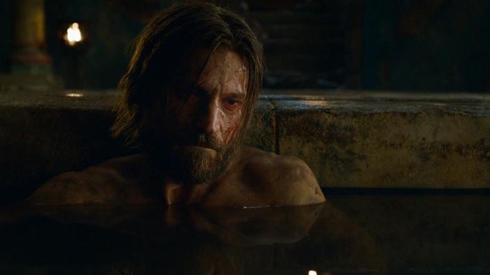 Jaime in the bath