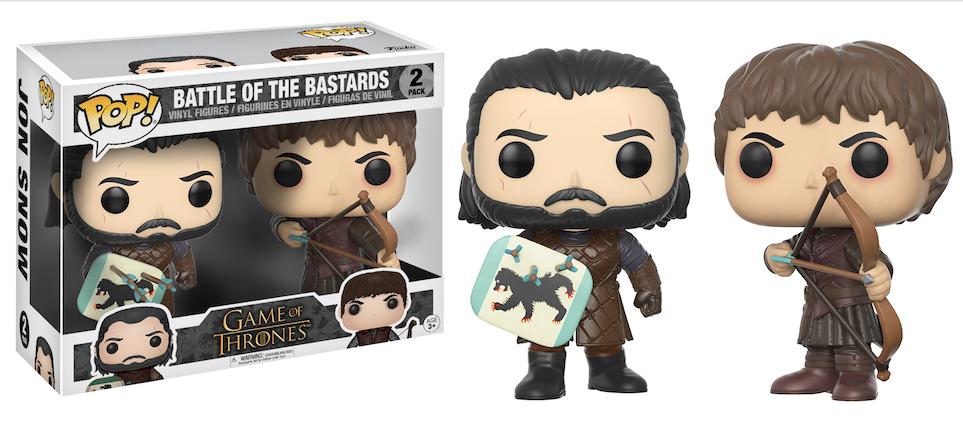 Jon Snow Ramsay BOTB 2 pack