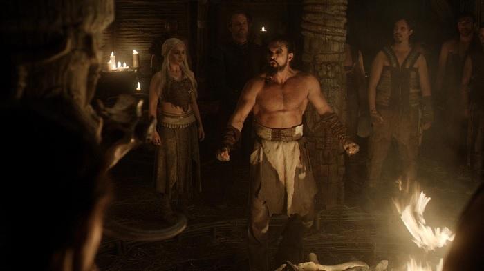 Khal Drogo Makes a Speech