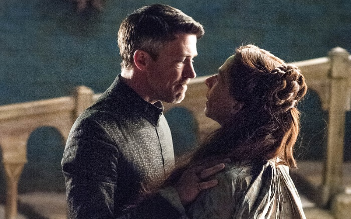 Littlefinger and Lysa
