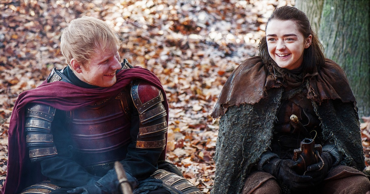 Arya is still Arya, despite all the trauma... and the murders
