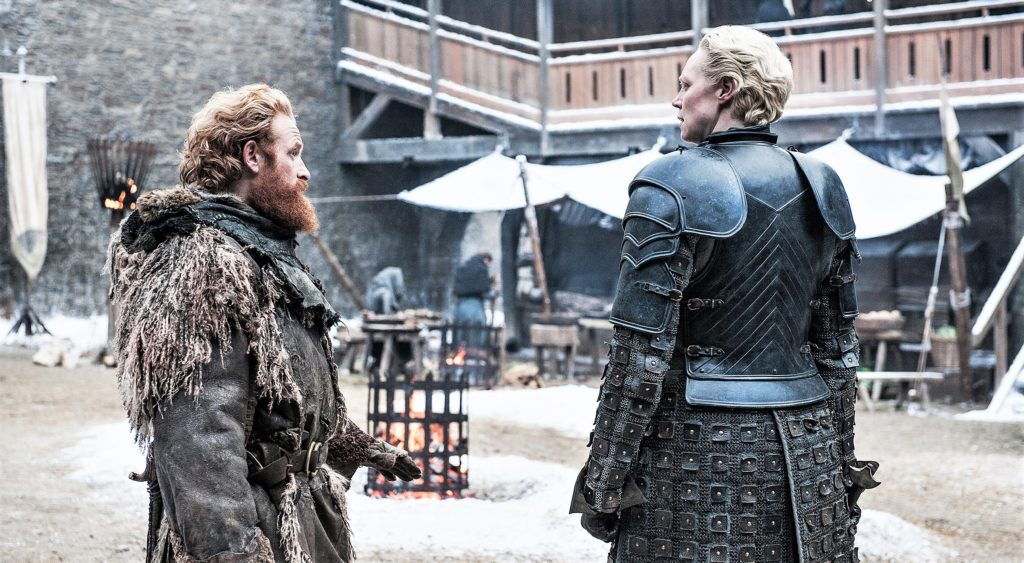 701 - Winterfell - Tormund, Brienne 2