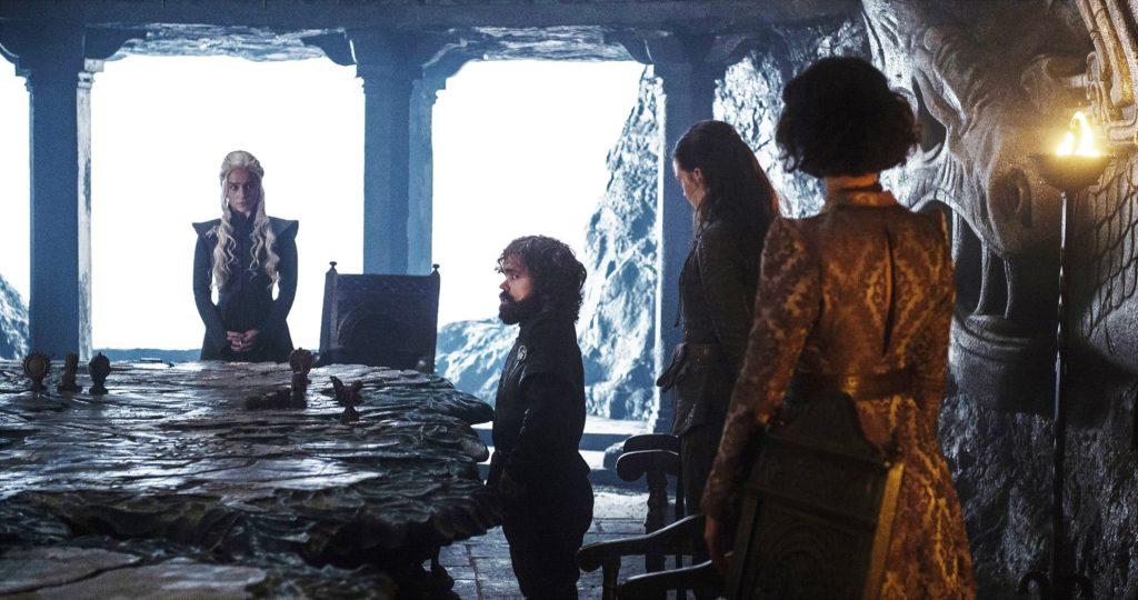 702 - Dragonstone - Daenerys, Tyrion, Yara, Ellaria 1