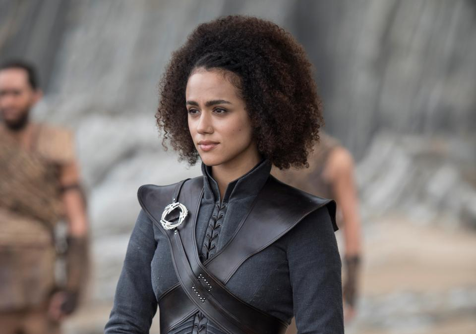 Nathalie Emmanuel as Missandei. Photo: HBO
