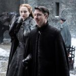 Sophie Turner as Sansa Stark and Aidan Gillen as Petyr Baelish. Photo: HBO