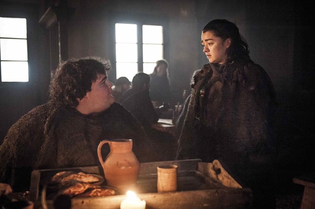Arya and Hot Pie Game of Thrones