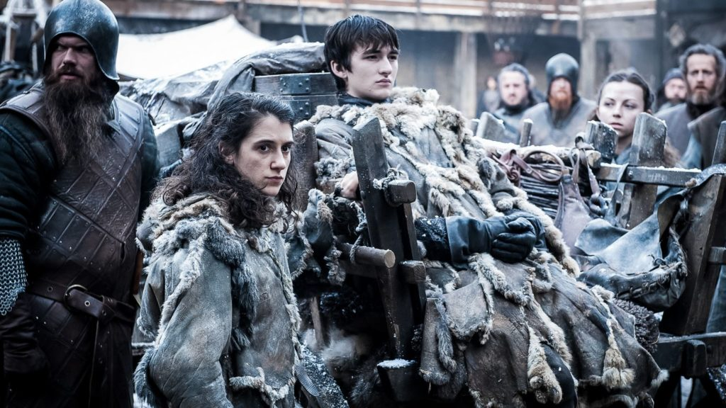 Bran and Meera The Queen's Justice