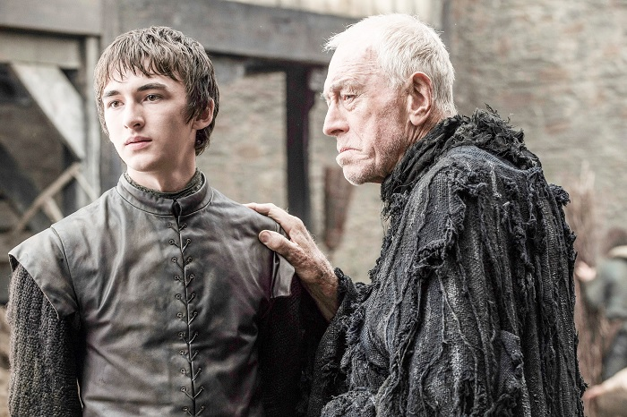 Bran and Three-Eyed Raven