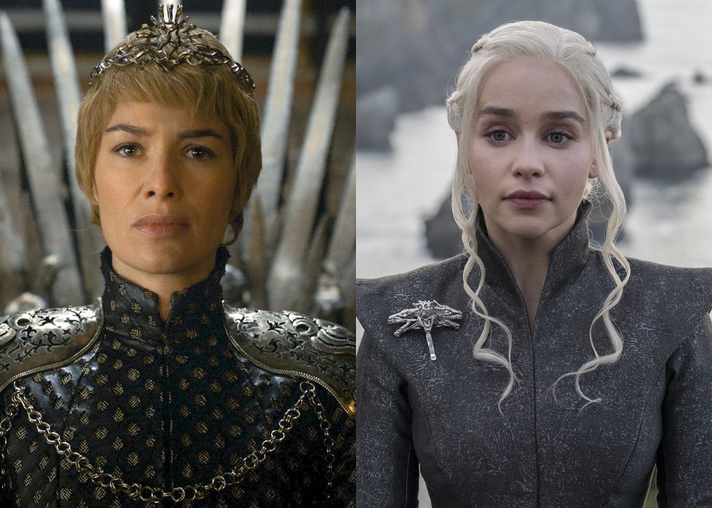 Cersei Lannister and Daenerys Targaryen Game of Thrones
