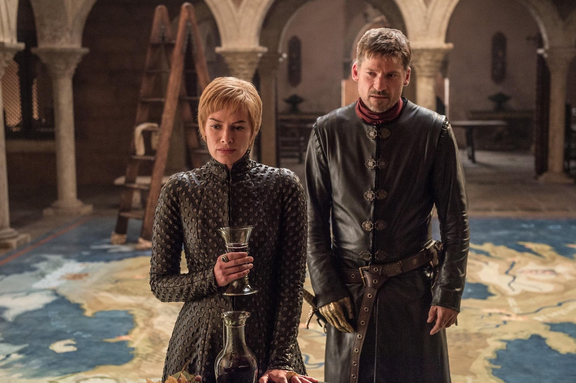 Cersei and Jaime Dragonstone