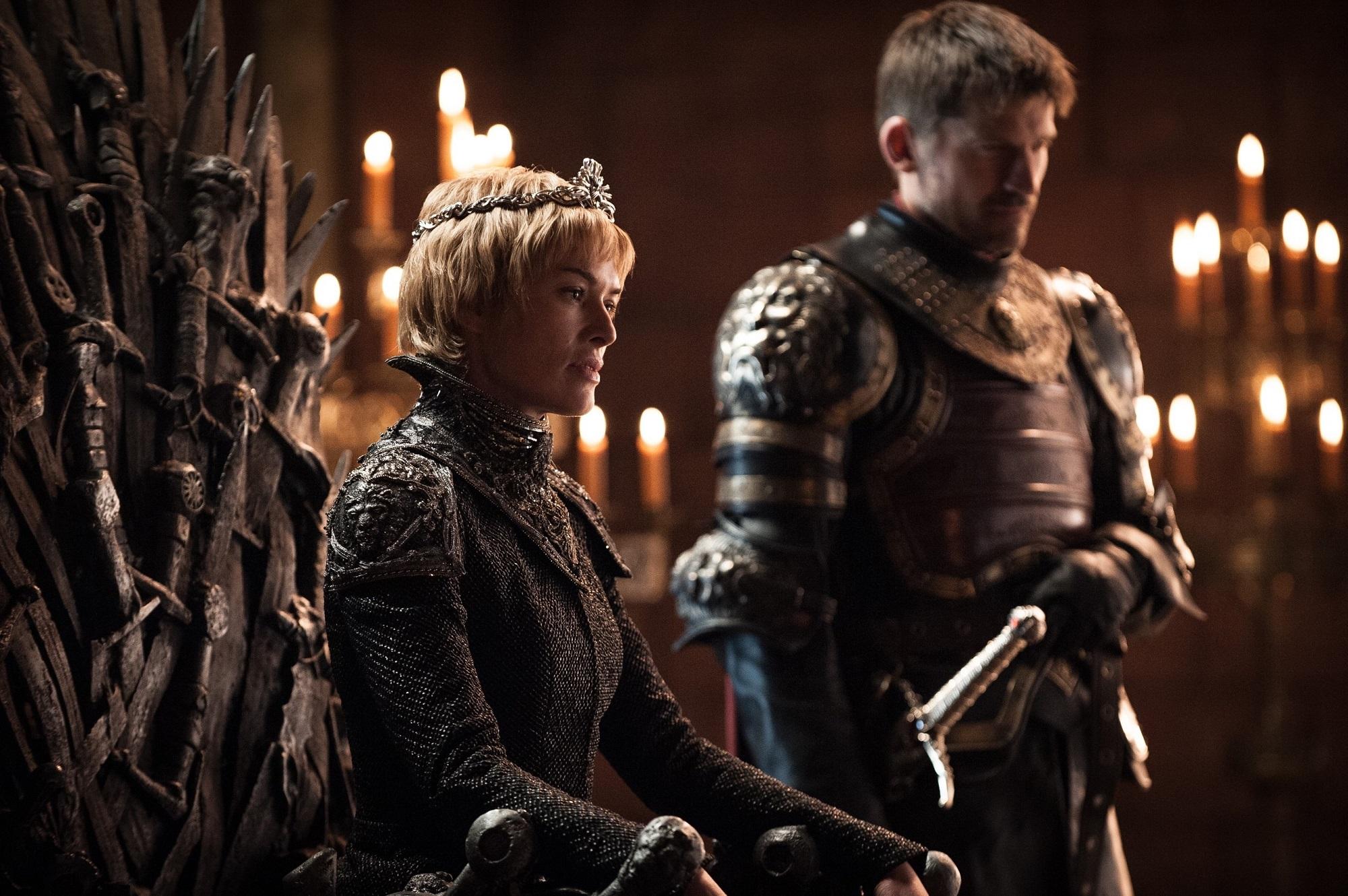 Cersei and Jaime Throne Room Dragonstone
