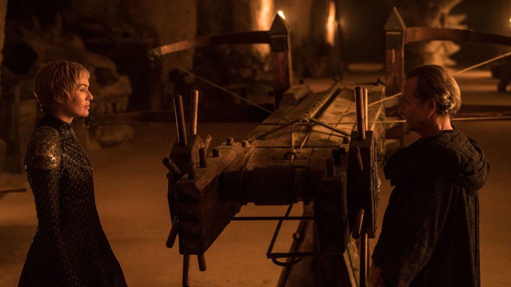 Cersei and Qyburn Stormborn