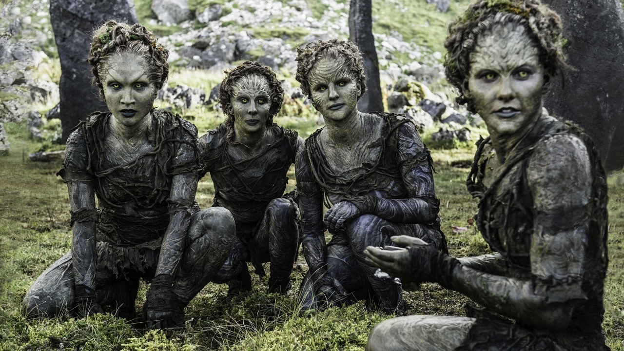 Children of the Forest on Game of Thrones