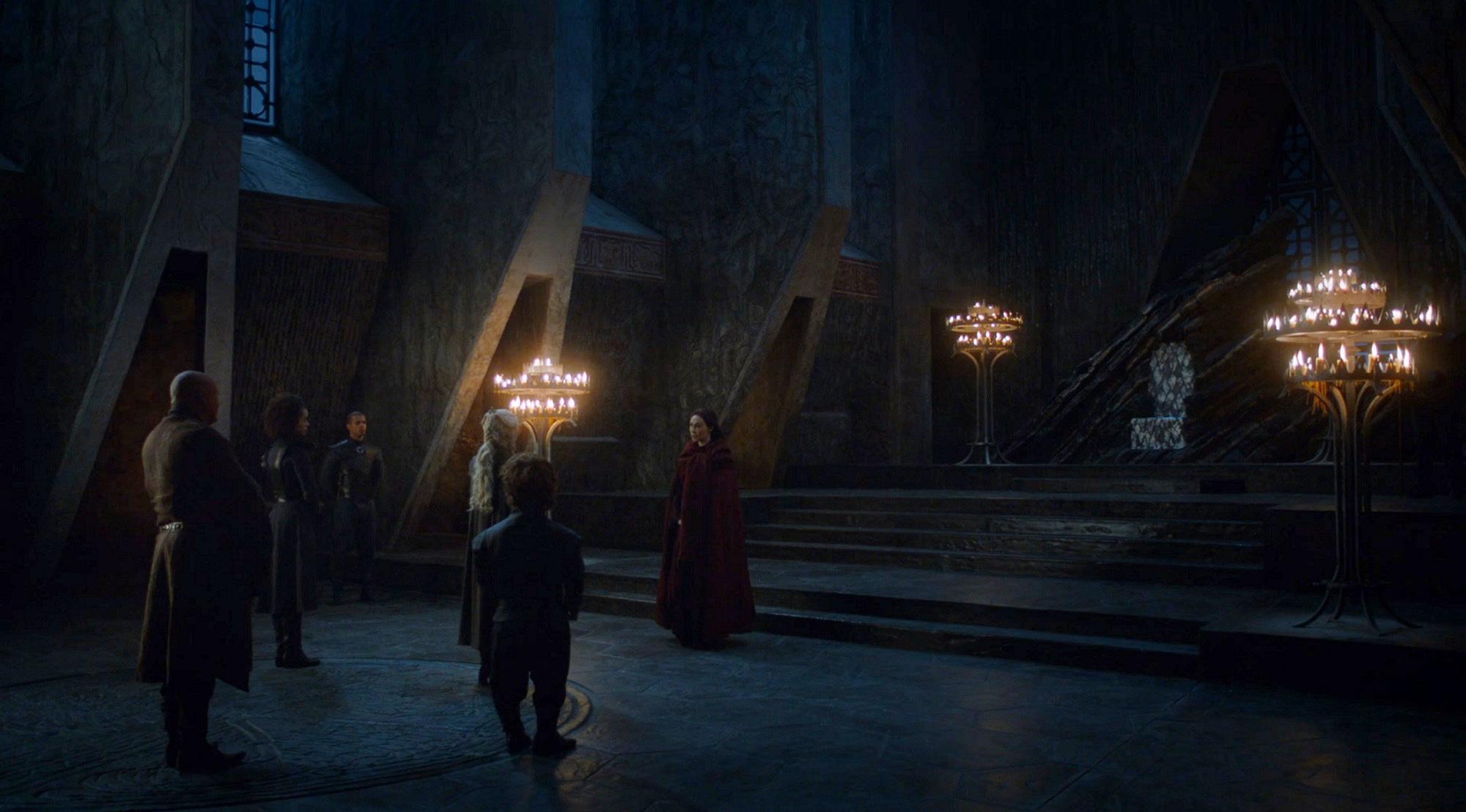 Daenerys and Melisandre