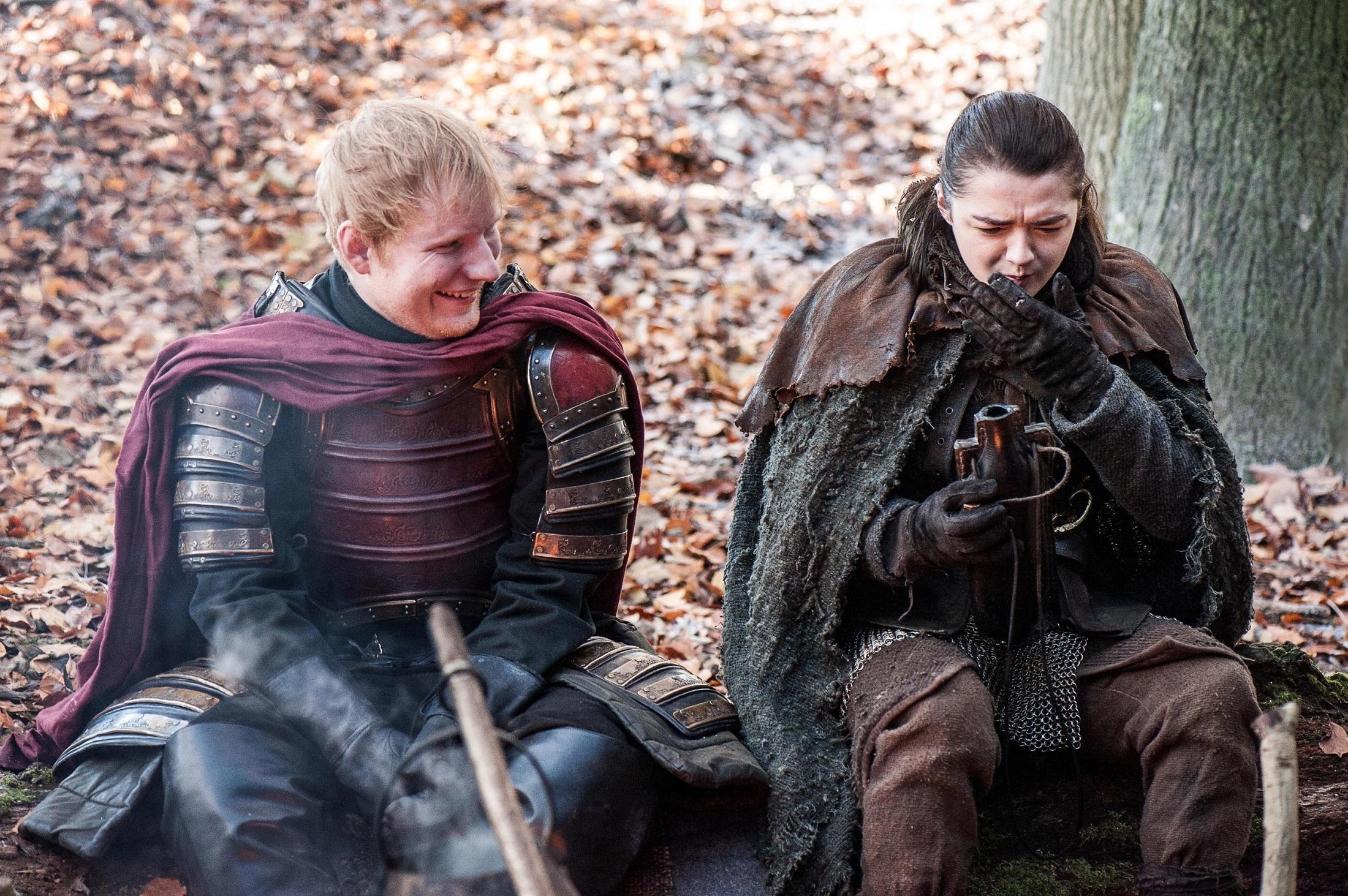 Ed Sheeran Arya Dragonstone