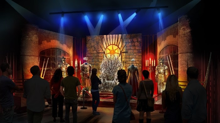 HBO Game of Thrones Touring Exhibition