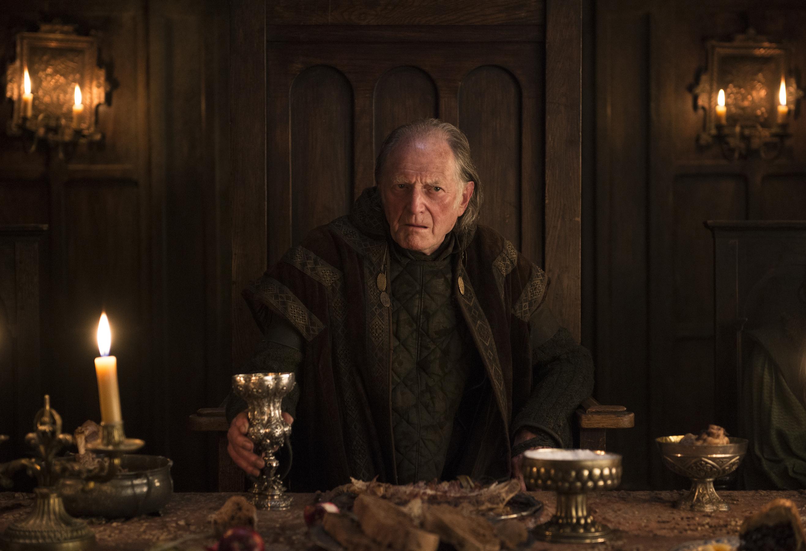 David Bradley as Walder Frey – Photo: Helen Sloan/HBO