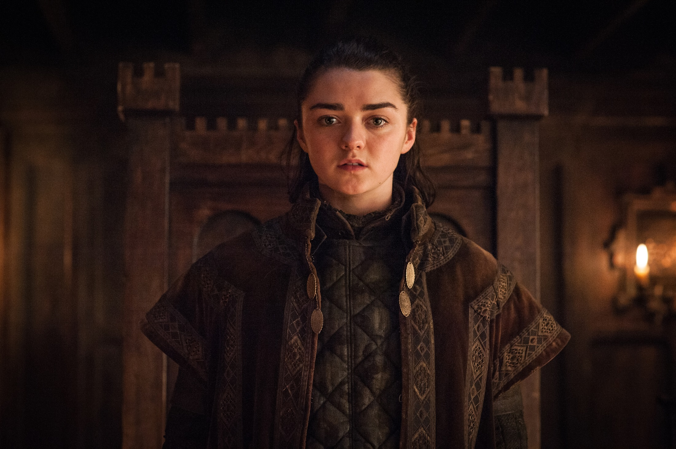 Maisie Williams as Arya Stark – Photo: Helen Sloan/HBO