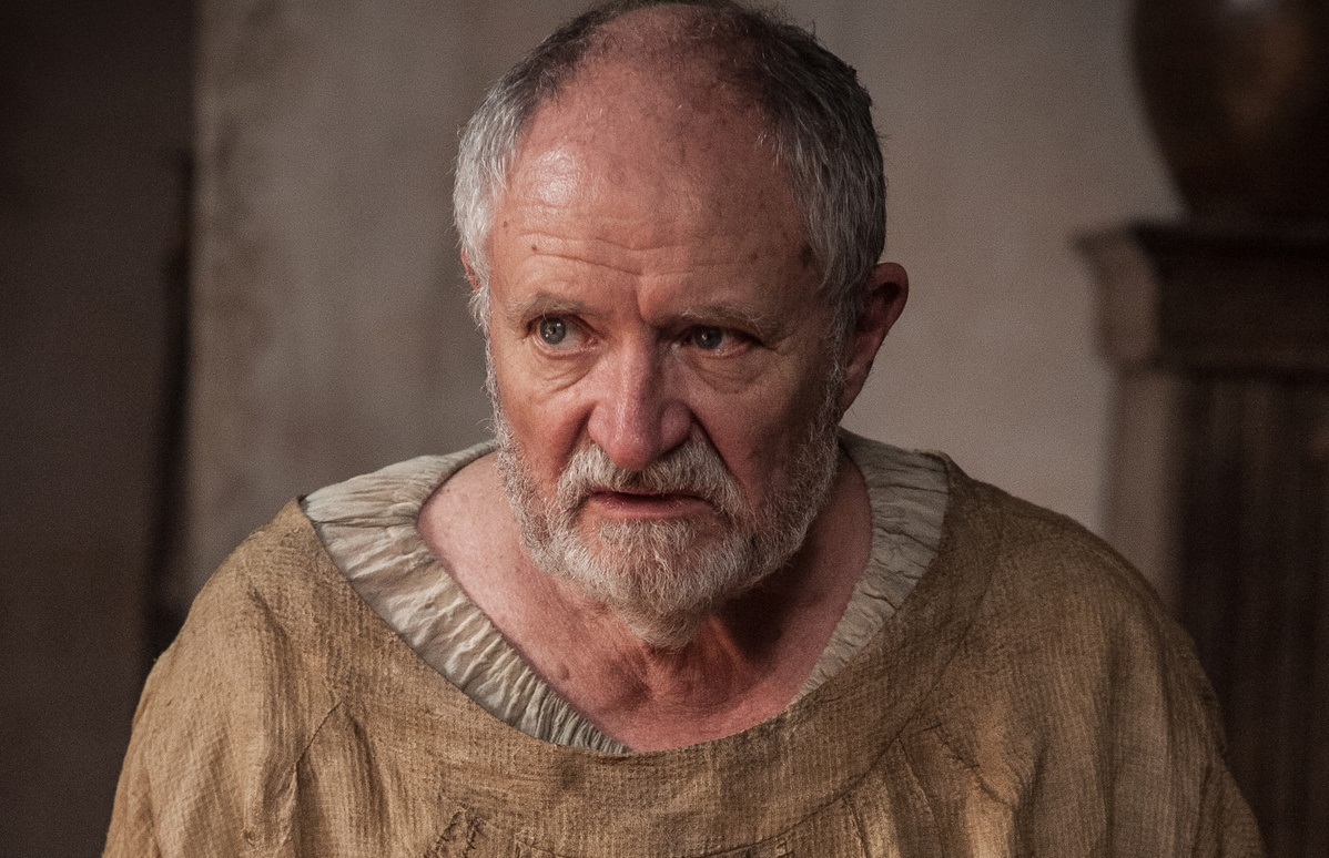 Jim Broadbent as Archmaester Ebrose – Photo: Helen Sloan/HBO