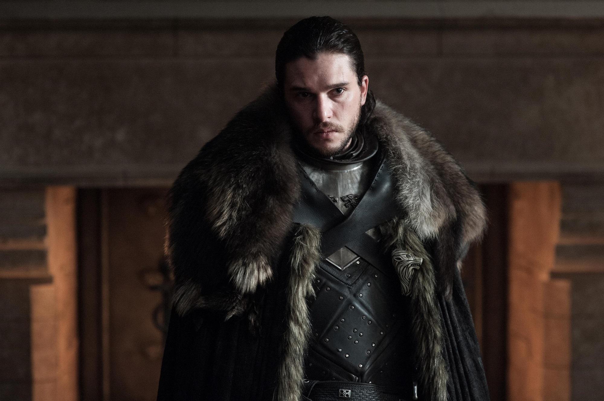 Jon Snow Dragonstone