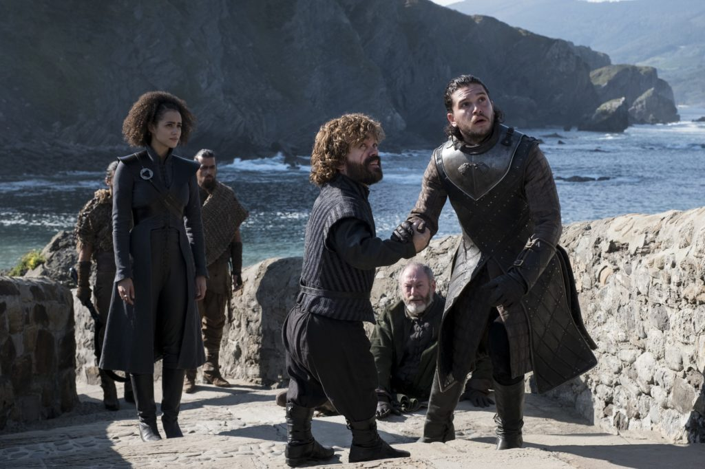Jon's arrival Tyrion Missandei The Queen's Justice