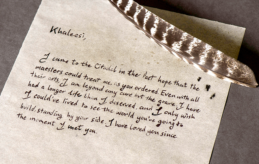 Jorah's letter to Daenerys calls back to their last farewell in more ways than one