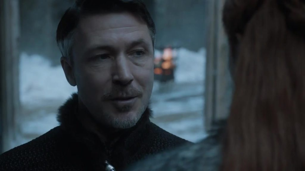 Littlefinger speaking