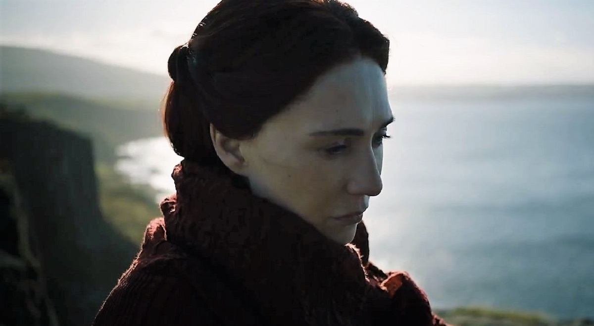 Melisandre at Dragonstone Game of Thrones