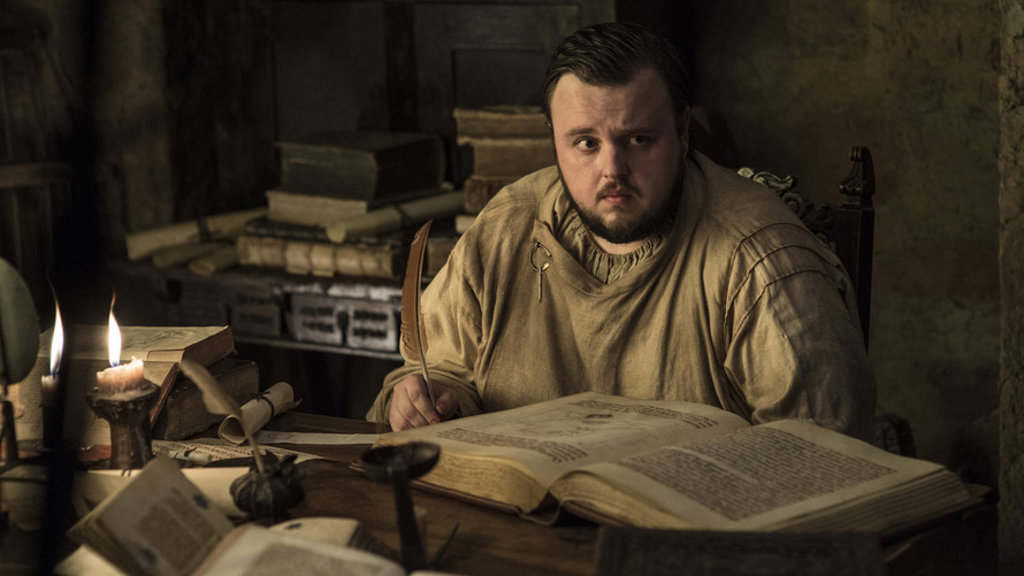 Samwell Tarly Game of Thrones