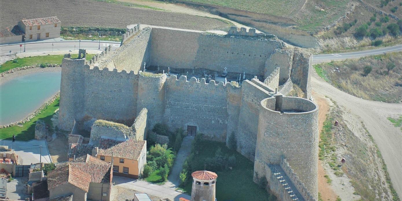 Castillo de Urueña, in Valladolid, Castilla y León, Spain